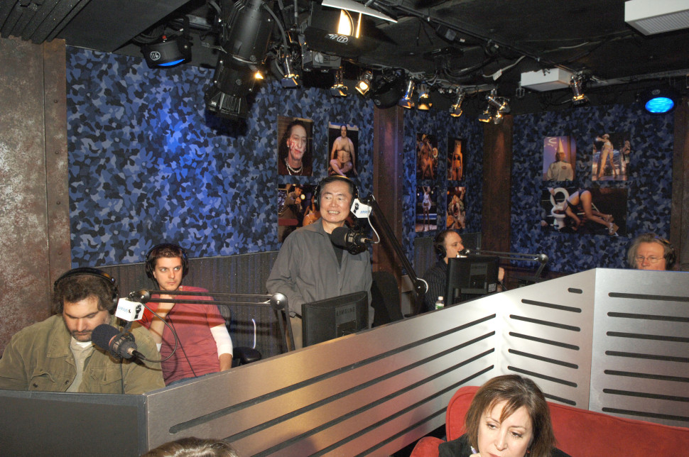 Takei on Howard Stern in 2006.L. Busacca/WireImage for Sirius